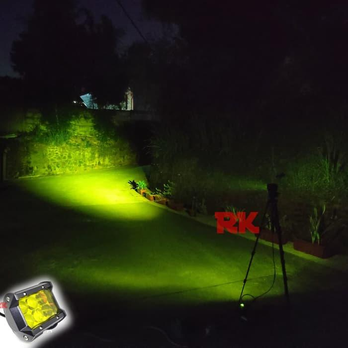 LED CREE WORKLIGHT WARMWHITE | LAMPU OFFROAD KUNING