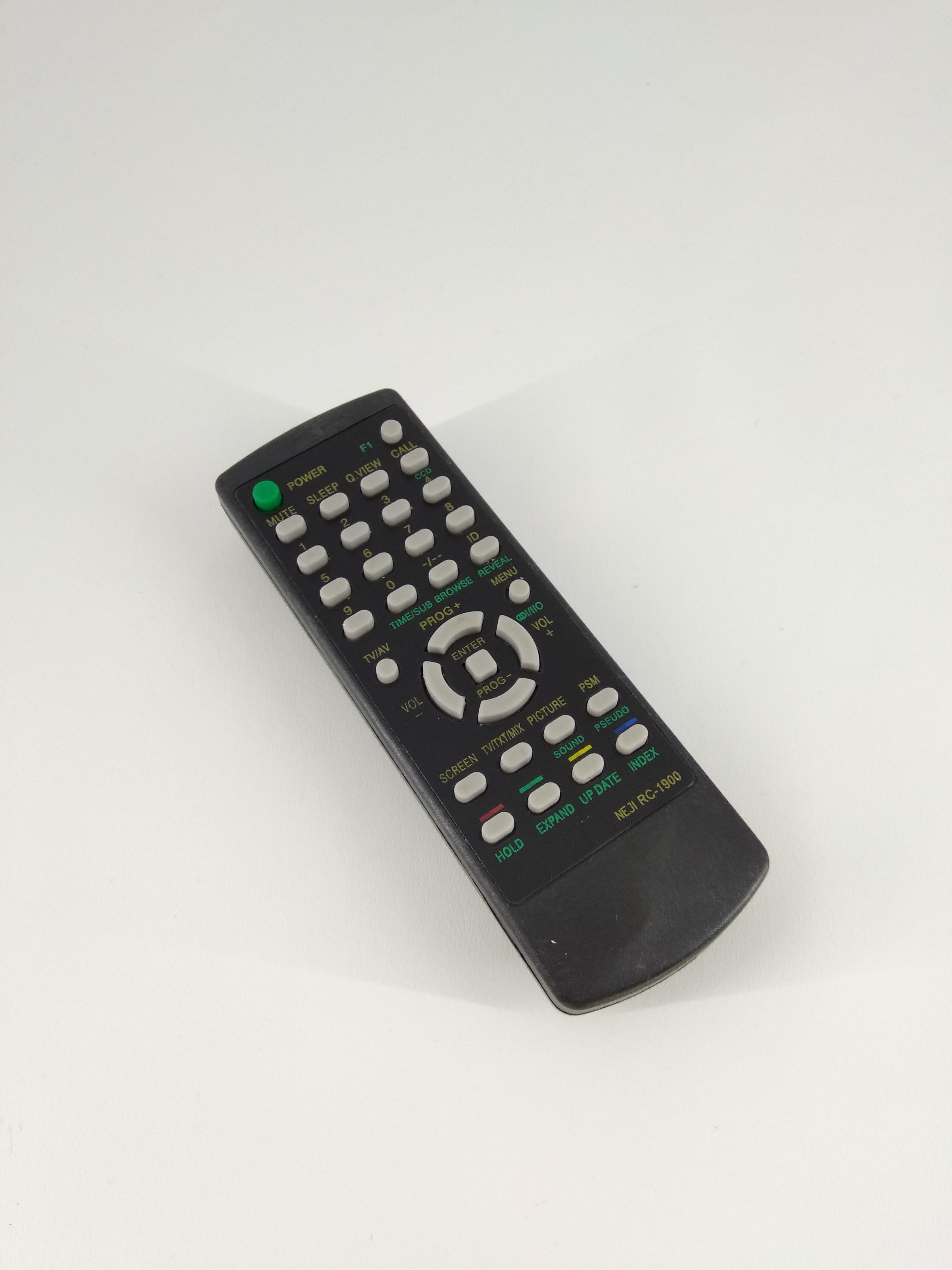 Remot Remote TV Akari Tabung RC-1900 Original Pabrik / KW