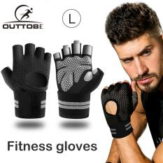 Outtobe Fitness Gloves Weight Lifting Gym Gloves Sports Training Gloves with Wrist Support for Workout Powerlifting Fitness Training Men and Women