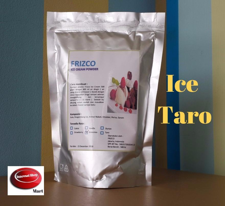 Frizco Taro Ice Cream Powder 500gr Bubuk Es Krim Ubi Ungu By Innovasi Shop.
