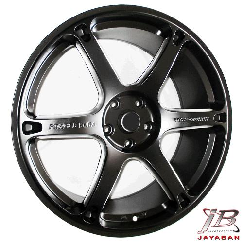 Velg mobil racing ring 20 inch Rep. Volkrays TE037 Dura PCD 5x114.3 modifikasi mobil Honda New Civic, CRV, HRV, BRV Toyota Innova, Camry, Mitsubishi Expander, Nissan Juke