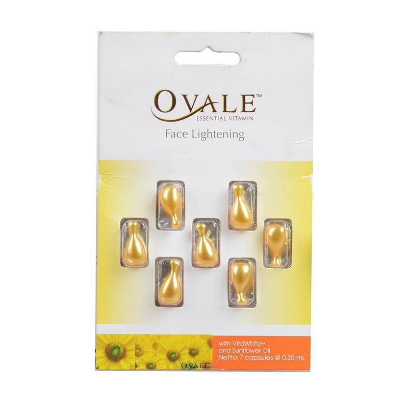 Ovale Essential Vitamin Face Lightening Blister 7 Capsule // Vitamin Wajah