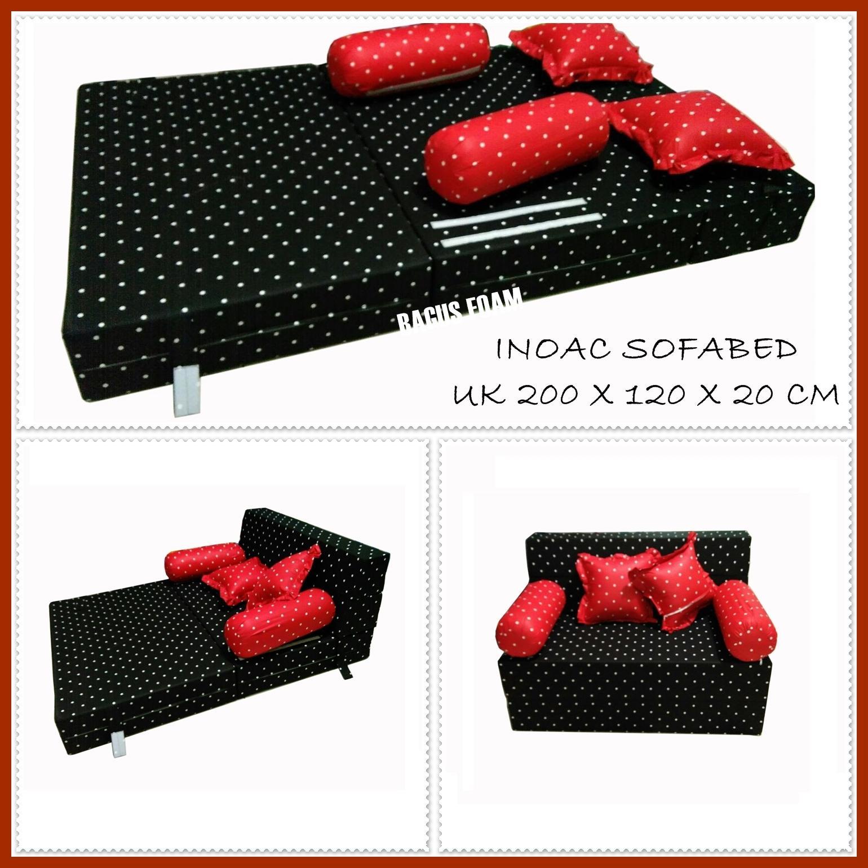Inoac Sofabed D 23 Uk 200 X 120 X 20 Cm