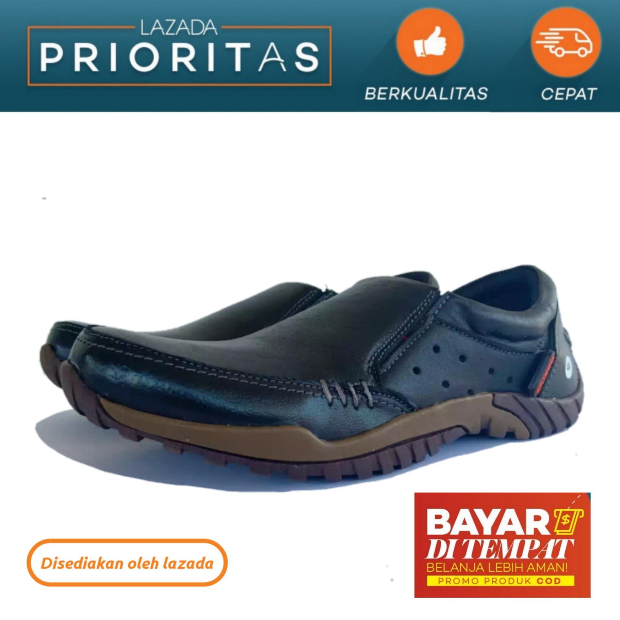 Cuzco   Sepatu Pria Formal Kulit Asli   Sepatu Formal Casual   Fashion Pria    Sepatu aa81c7440b