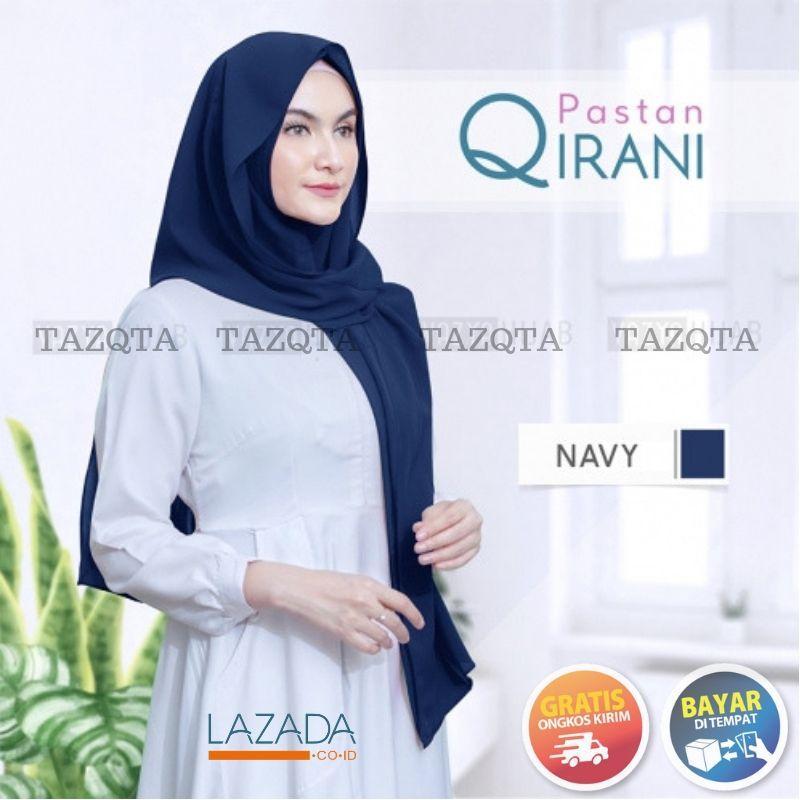 TAZQTA Pastan Qirani // Pashmina Instan 1 Jilbab 2 Model Gaya Praktis Langsung Slup //  High Quality Diamond Georgette Cantik Dan Elegan 1234