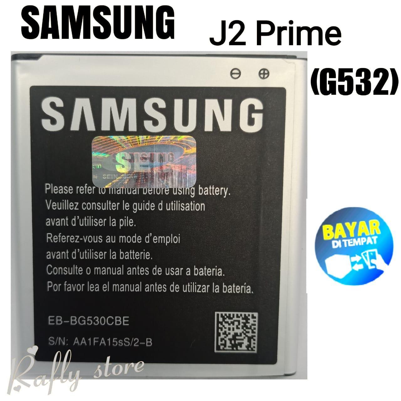 Rafly; Batrai Samsung J2 Prime (G532) Baterai Handphone Batre Android Battery Batere Samsung