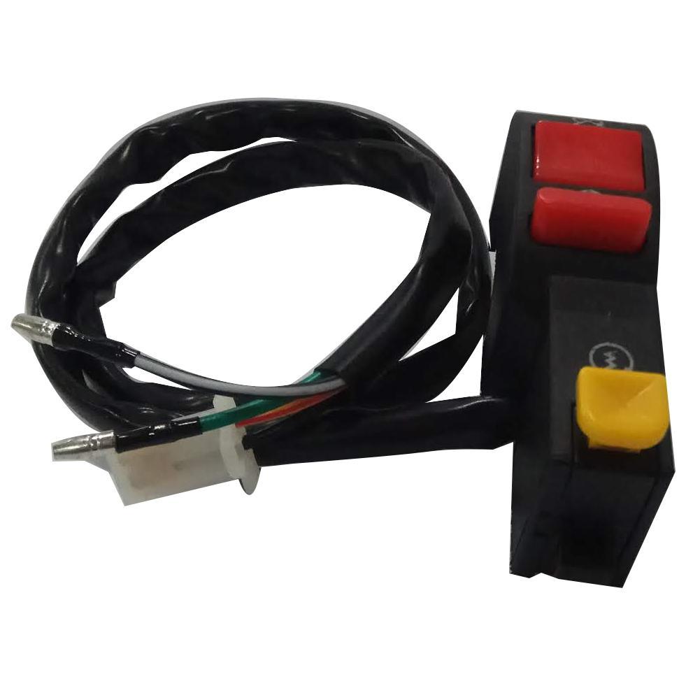 Saklar Tombol On Off Untuk Lampu Depan + Saklar Push ON - 4 kabel
