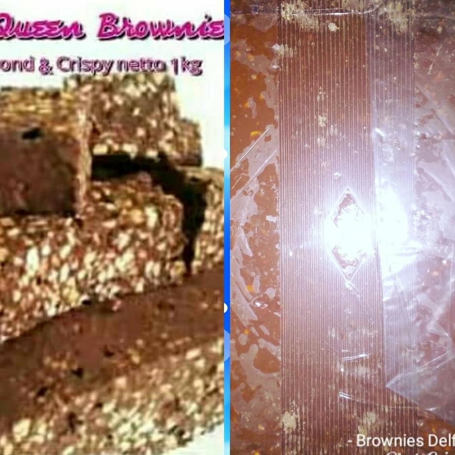 Coklat Blok/Brownis Delfi Silverqueen