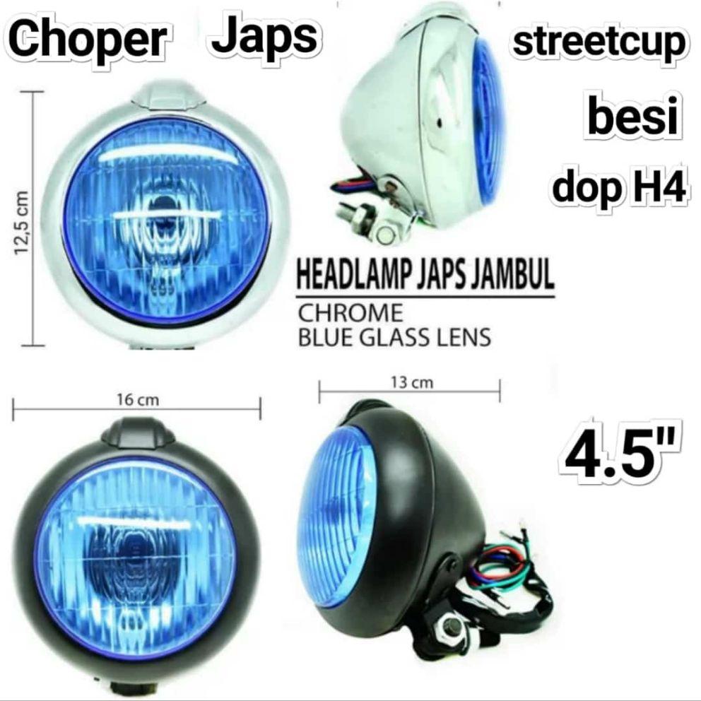 LAMPU DEPAN REFLEKTOR CHOPER JAPSTYLE JENONG