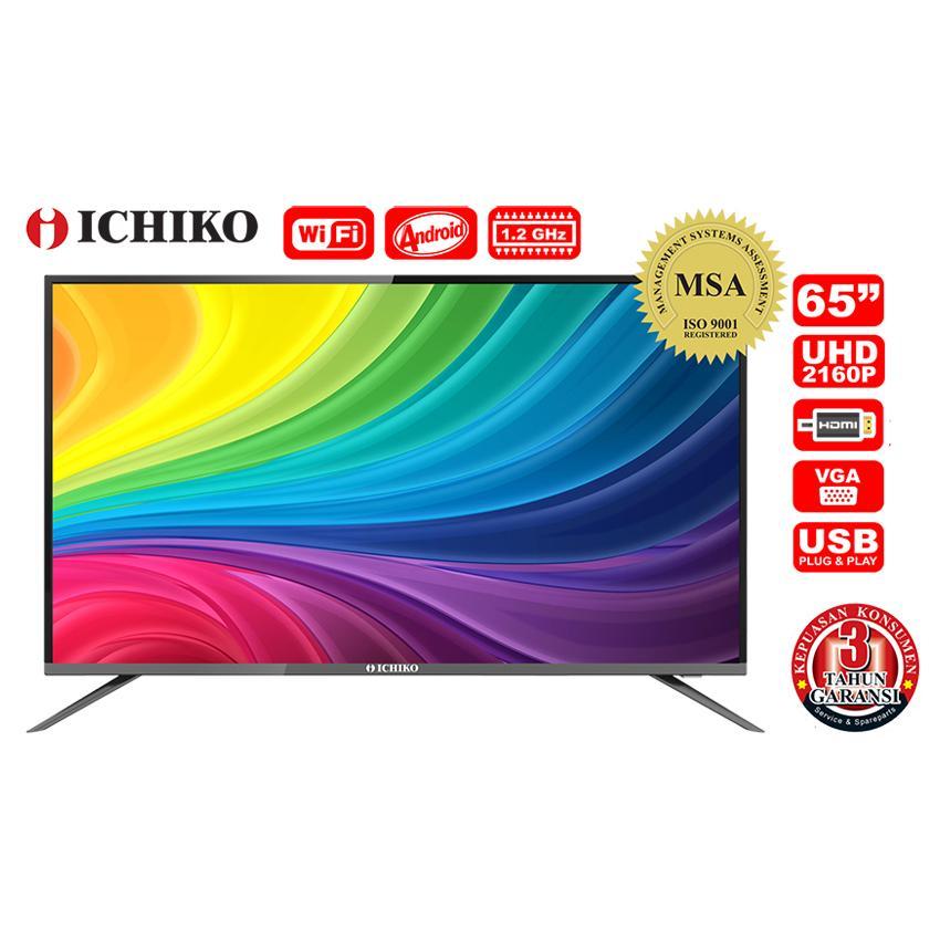 ICHIKO UHD 4K LED Smart TV 65 inch (Model ST6536)