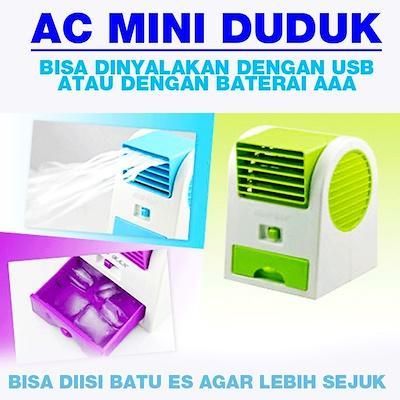 CS JAYA Air Conditioner (AC)/Air Cooler Portable 2 Pintu/Double Fan / AC Duduk mini
