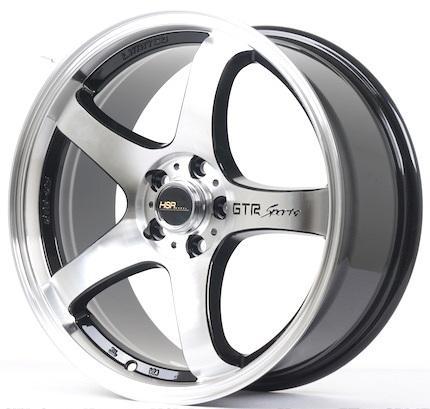 Velg Mobil Racing Ring 17 HSR GTR SPORT Hole 5 Pcd 5x100 Model Pelek Terbaru