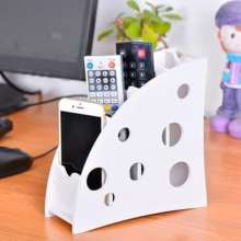 MEGA-STORE Remote organizer tempat penyimpanan remote TV AC HP elektronik DIY