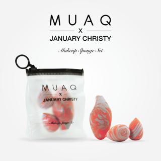 MUAQ X JANUARY CHRISTY Makeup Sponge Set thumbnail