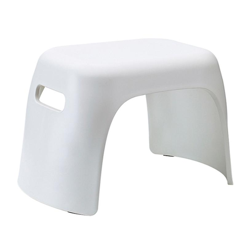 Thick Plastic Small Stool Bathroom Anti-Slip Stool Home Change Shoes Square Stool Children Bath Hand Wash Small Bench