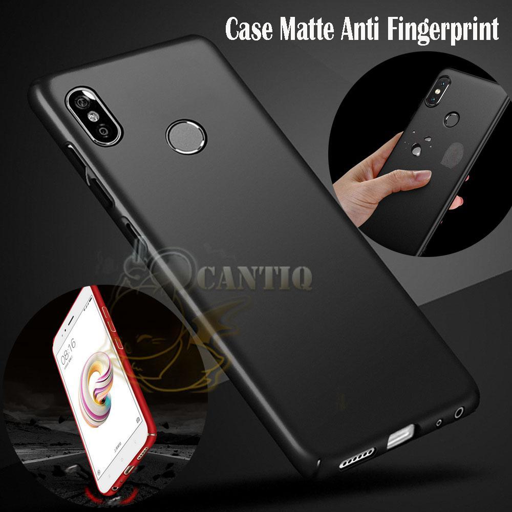 QCF Case Xiaomi Mi A2 Lite Hard Slim Matte Anti Fingerprint Hybrid Case Baby Skin Xiaomi Mi A2 Lite