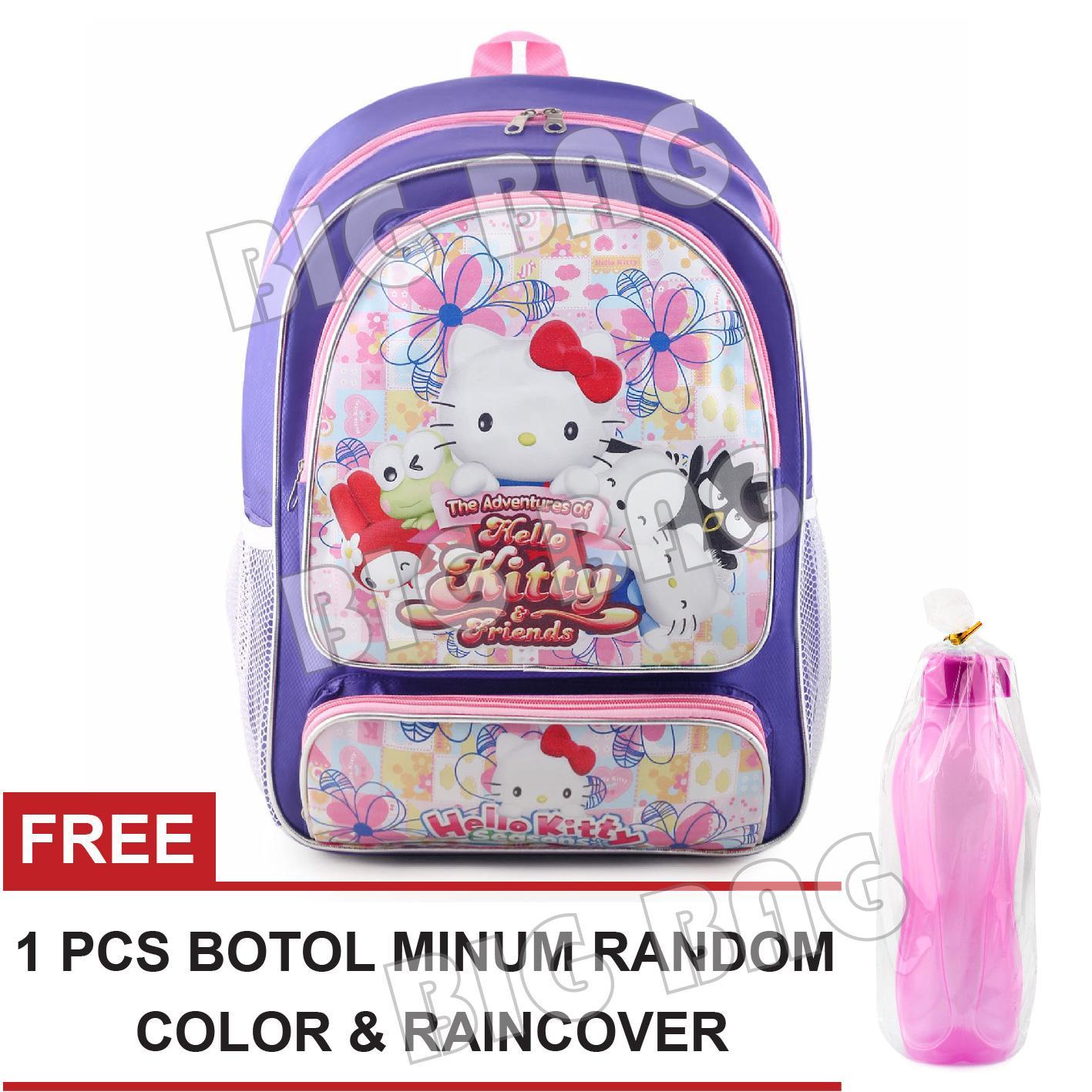 Sale Termurah Fancy Botol Minum BPA Free 500 Ml. Source · Tas Ransel Anak Perempuan Karakter - Hello Kitty - Properly .SC - PURPLE + FREE