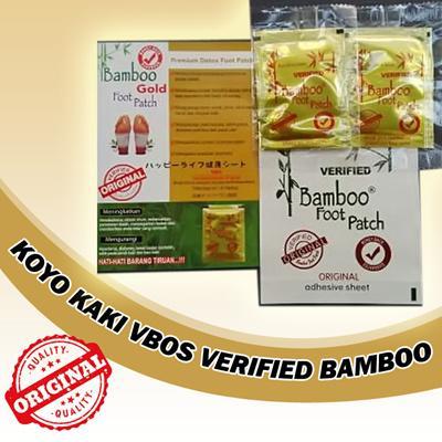 ... Foot Patch 4 Pasang; Page - 3. COD Koyo Kaki Bamboo Gold Original VBOS 1 Pasang