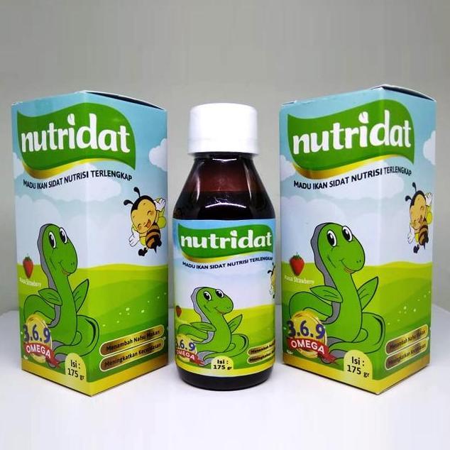 Nutridat Madu Penambah Nafsu Makan Anak ( Strawberry ) By Herbindo.