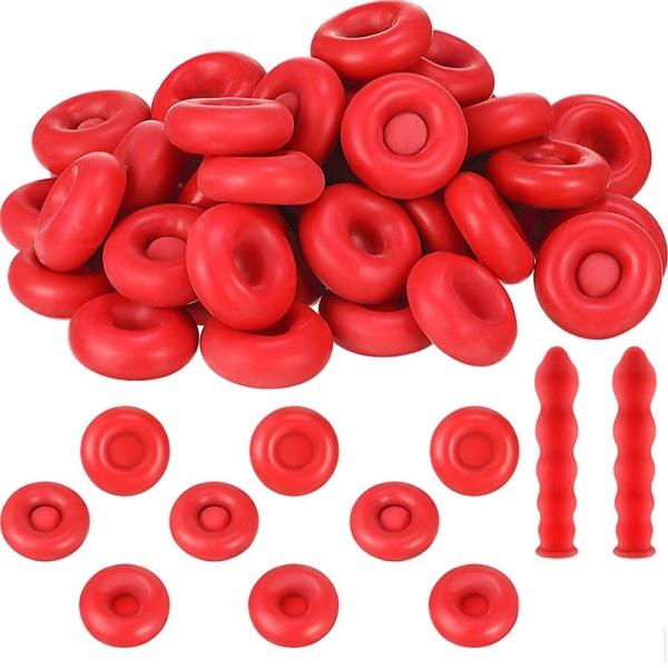 Caulk Cap Caulk Saving Cap Caulk Sealer Saver Open Caulking Tube for Sealing and Preserving, Red (150 Pieces)