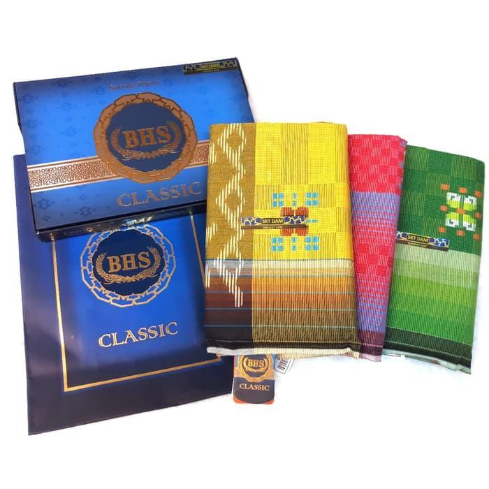 Sarung BHS Classic Songket Original Murah Premium (ASLI) Bukan Afkir