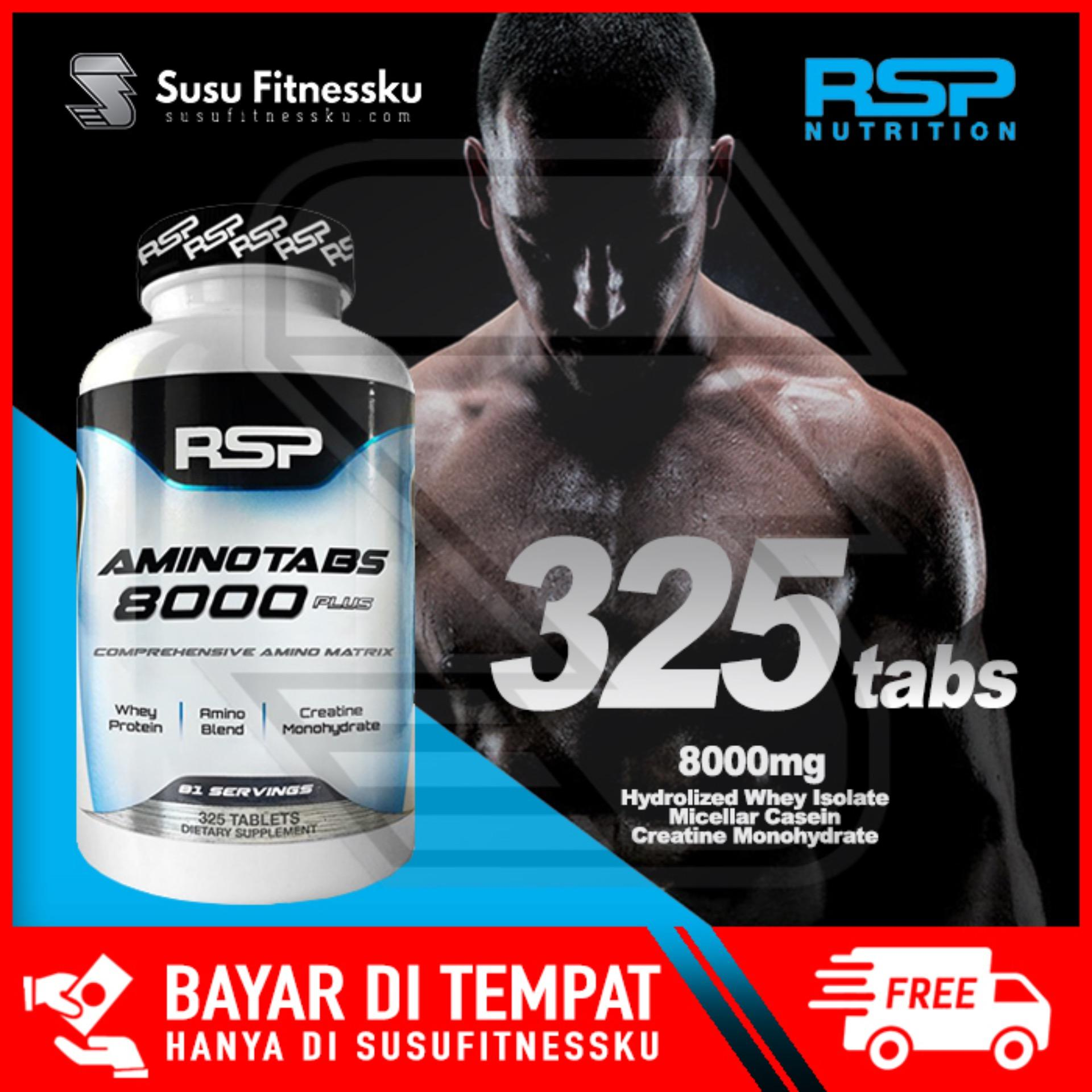Rsp Amino 8000 325 Tabs By Susu Fitnessku.