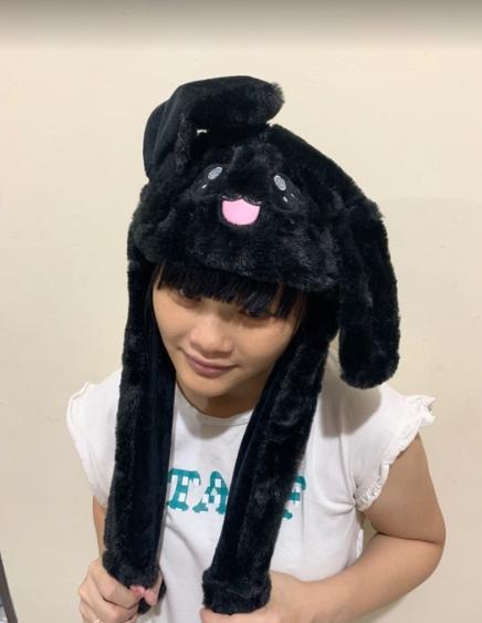 Topi Kelinci Lucu Import - Rabbit Hat Dance - Magic Rabbit Bunny Ear Hat Led Berlampu - Topi Stich Unicorn Menari - Bunny Hat Dance By Acc Perhiasan.