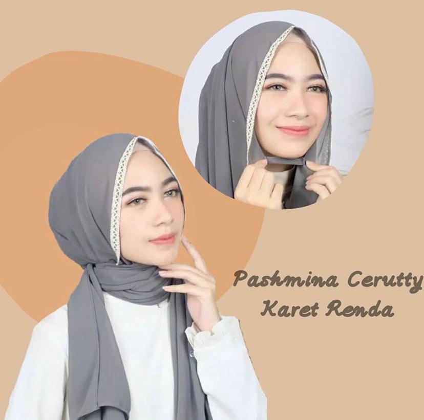 Hijab Pashmina Ceruty Babydool Karet Renda Terbaru Hijab Pashmina Tali Diamond Hijab Pashmina Karet Hijab Pashmina Ceruty Baby Doll Hijab Pashmina Tali Ceruty Lazada Indonesia