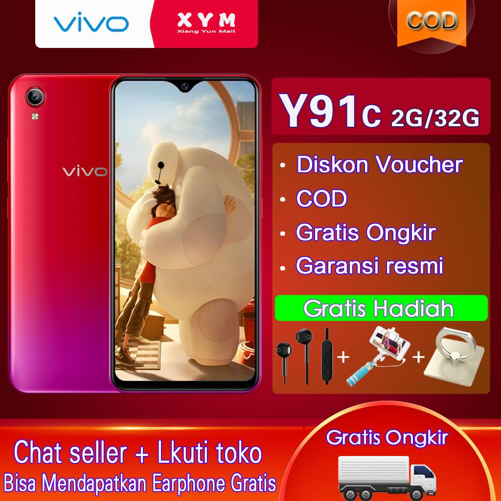 Vivo Y91C - 2G/32G 6.22inches, COD, Gratis Ongkir, Ultra All Screen, Garansi resmi [ Please use the voucher ]