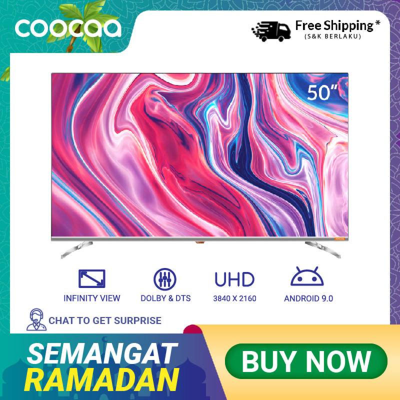 COOCAA 50 inch OS Coocaa Lite Smart LED TV - Andoid 9.1(Model 50S6G)
