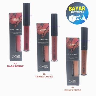 Lip Cream Implora Urban Matte - Lipstik Implora Original BPOM Lipstick thumbnail