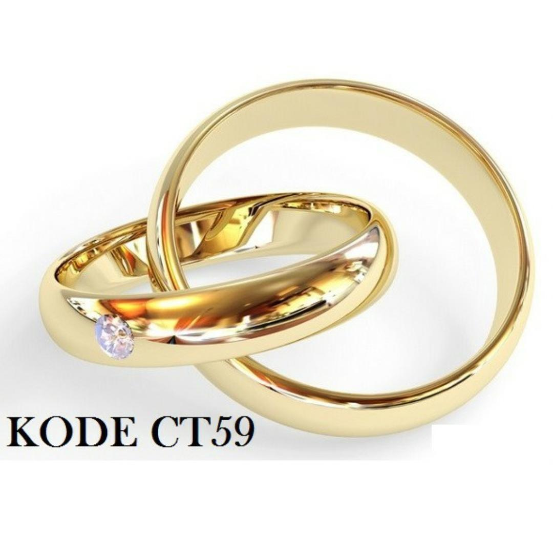 Cincin Couple Titanium By Nandhut Outlet.