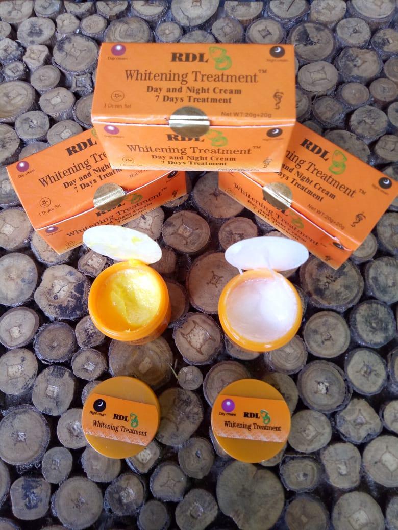 As - Rdl Whitening Treatment Day & Night Cream 7 Days Treatment - Cream Rdl Set Siang Malam - Cream Pemutih Rdl By Astah.