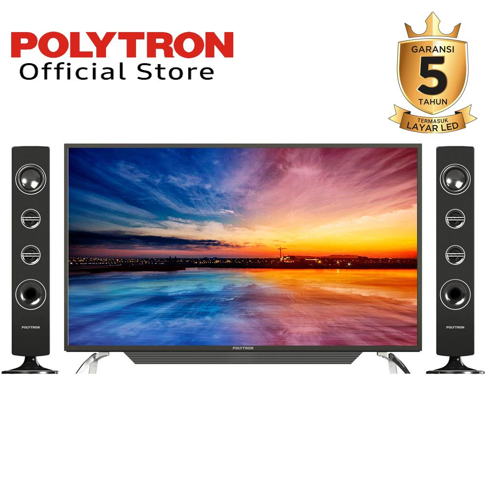 Led Digital Tv 43Inch Polytron Type: 43TS153 (DIJAMIN 100% ORI)