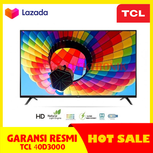 TCL 40D3000 LED TV 40 INCH FULL HD TV