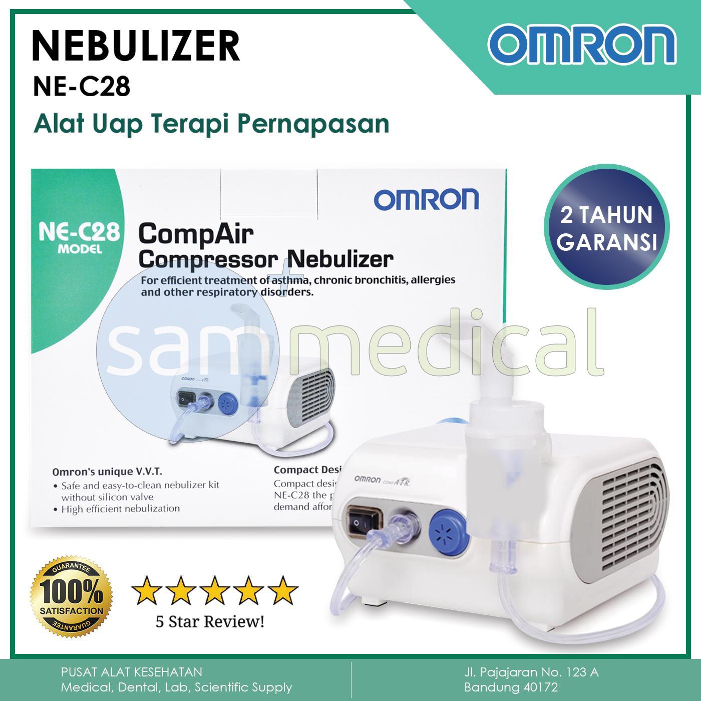 Omron Ne-C28 Nebuliser Alat Uap White