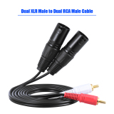 Tips Beli 1 5 M 5 Kaki Kabel Audio Stereo Ganda Xlr Laki Laki Ke Rca Male Plug For Penyangga Penguat Mikrofon Mxing Internasional
