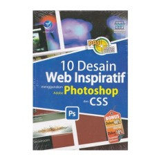 10 DESAIN WEB INSPIRATIF MENGGUNAKAN ADOBE PHOTOSHOP DAN CSS