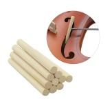 Spesifikasi 10 Pcs Akustik Biola Kolom Columna Suara Post Stand Security Spruce 70Mm Untuk 4 4 3 4 Violin Intl Dan Harganya