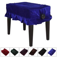 1 Pcs Pleuche Musik Piano Debu Guard Stool Cover Slipcover untuk Single Kursi-INTL (...)