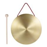 Jual 22 Cm Tangan Gong Simbal Kuningan Tembaga Chapel Opera Instrumen Perkusi Dengan Round Palu Bermain Intl