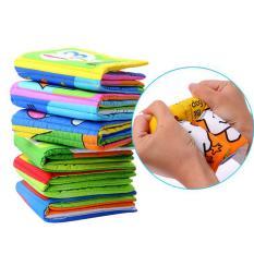 Jual 360Dsc 6Pcs Washable Classic Baby Cloth Books Intl 360Dsc Ori