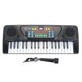 Situs Review 37 Tombol Keyboard Elektronik Musik Kid Electric Piano Organ W Mic Adaptor Hitam Intl