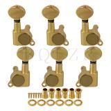 Jual 3X3 Guitar Tuning Tombol Mesin Kepala Untuk Guitar Gold Oem Murah
