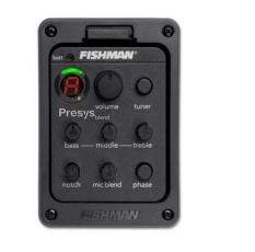 Spesifikasi 6 Pcs Fishman Presys 301 Mikrofon Campuran Ganda Model Eq Penyetem Gitar Preamp Piezo Pikap Mengalahkan Internasional Oem