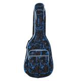 Harga 600D Tahan Air Kain Oxford Kamuflase Biru Dijahit Double Guitar Gig Empuk Tali Tas Kotak Jinjing Untuk 101 6 Cm S Folk Gitar Klasik Akustik Unbranded Baru