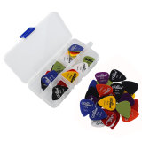 Top 10 60 Buah Set Gitar Akustik Bass Picks Plectrums Ketebalan Warna Case Online