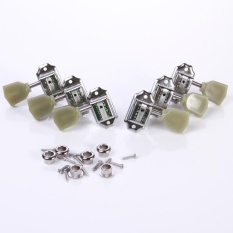 Jual 6Pcs Set Deluxe Jade Guitar Tuning Pegs Keys Machine Heads Tuners Gear Intl Oem Ori
