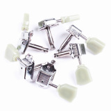 Jual 6X Lp Style Retro Guitar Knob Tuners Tuning Pegs Silver 3R3L Vakind Di Tiongkok
