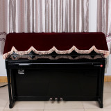 Beli Barang 88 Key Keyboard Piano Elektronik Cover Pleuche Fastener Tape Dihiasi Online